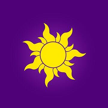 Tangled Sun by dellycartwright
