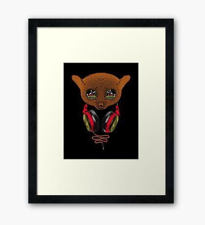 DJ Tarsier Framed Print