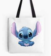 Stitch Heart Tote Bag