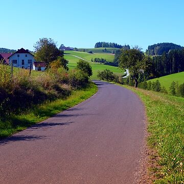 Country road with scenery II | landscape photography by patrickjobst