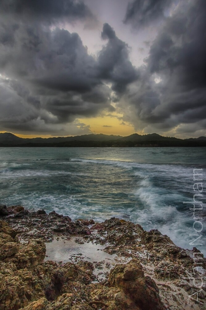 Storms in Puerto Plata by anorth7