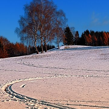 Hiking through winter wonderland III | landscape photography by patrickjobst