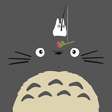 Cute Totoro  by MinetteMona