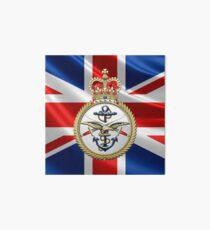 British Armed Forces Emblem 3D Art Board