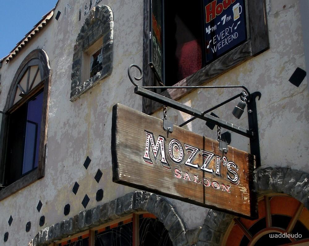 """"""" Mozzi's Saloon """" by waddleudo"""