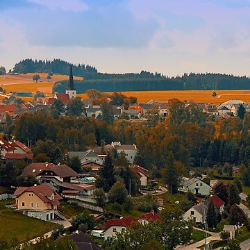 Beautiful village skyline | landscape photography by patrickjobst