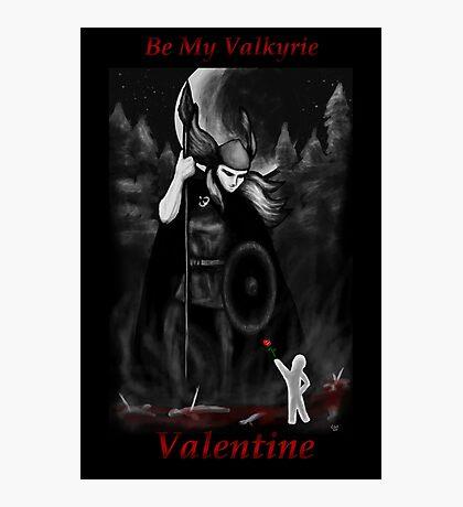 Valkyrie Valentine Photographic Print