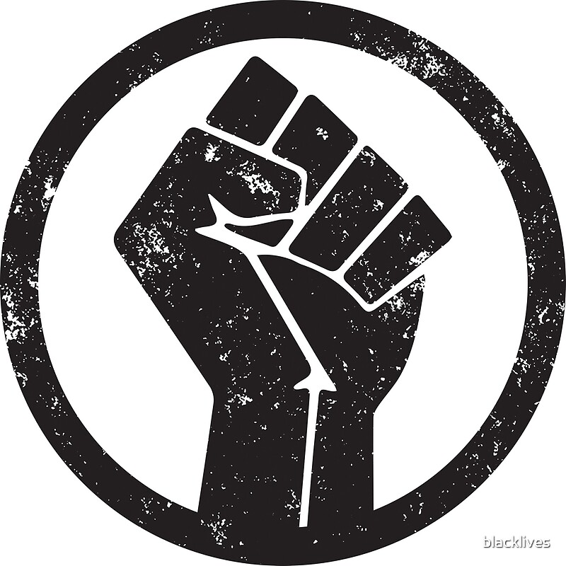 Black Panther Fist Symbol