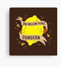 One Million Years Dungeon Canvas Print