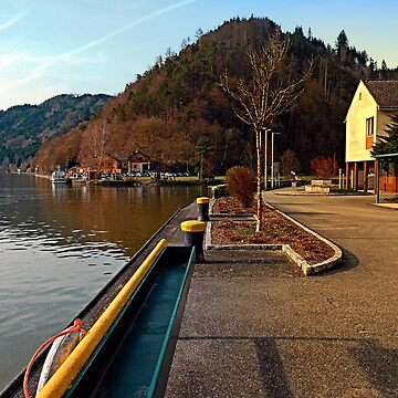 River Danube valley, at the harbour | waterscape photography by patrickjobst