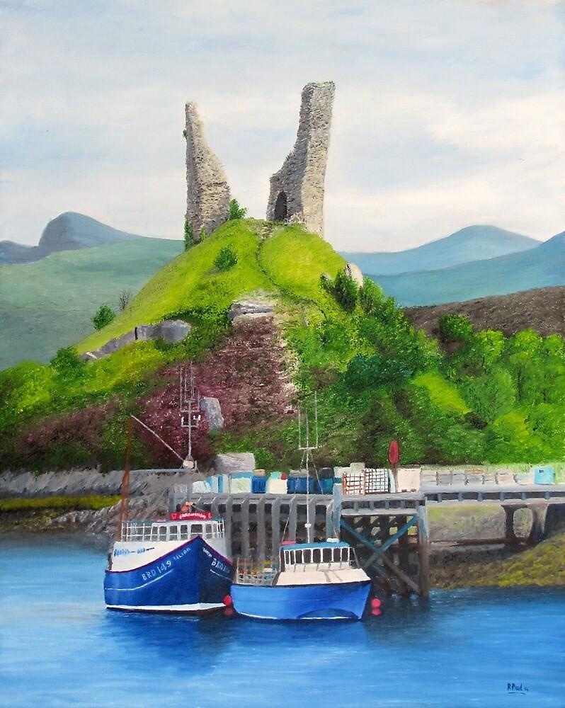 Kyleakin - Home Of The Scottish Midge by Richard Paul