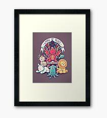Game Of Toys Framed Print