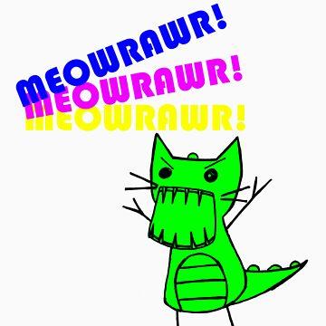 Meowrawr by SaidtheRedBear