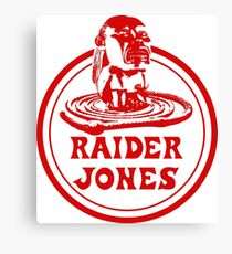 Raider Jones Canvas Print