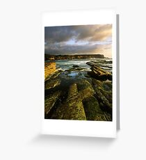 """Cliff to Cliff"" ∞ Little Bay, NSW - Australia Greeting Card"