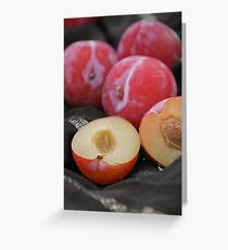 Plums Greeting Card