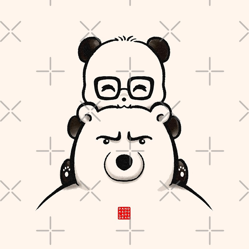 Quot Panda And Polar Bear Quot By Panda And Polar Bear Redbubble