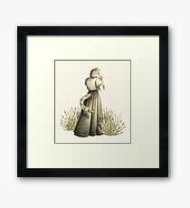 Victorian Cat Series 04 Framed Print