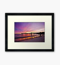 Morning Colors Framed Print