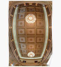 Queensland Parliament Ceiling • Brisbane • Australia Poster