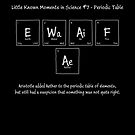 Little Known Moments of Science #7 - The Periodic Table by AdTheBad