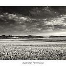 Australian Farmhouse - Mono by JayDaley