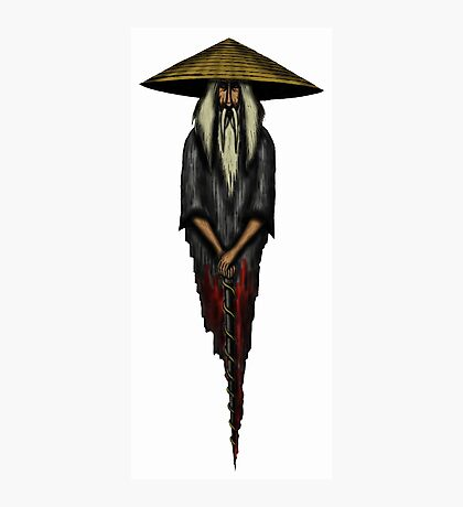 Chinese Monk surreal drawing Photographic Print
