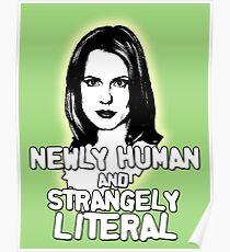 ANYA JENKINS: newly human, strangely literal Poster