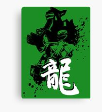 Dragonzord Canvas Print