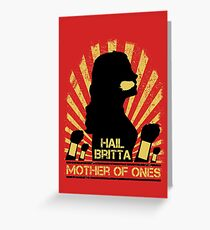 Mother of Ones Greeting Card