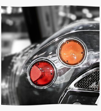 Some Color Included - Spyker C8 Tail Light Poster