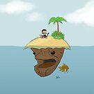 Monkey and Island by JCarrtoons