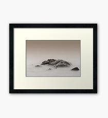 Rocks, Smiths Beach, Western Australia Framed Print