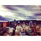 Portland Skyline by omhafez