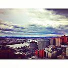 Portland, Oregon Skyline by omhafez