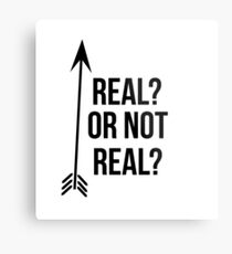 Real Or Not Real? Metal Print