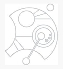 Custom Name in Circular Gallifreyan from Doctor Who (Please message me your name before ordering!)  Photographic Print