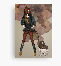 Country Chic Metal Print