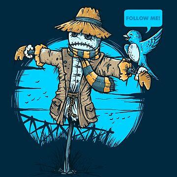 Pájaro social de Letter-Q