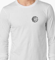 Boulder Badge (Pokemon Gym Badge) Long Sleeve T-Shirt