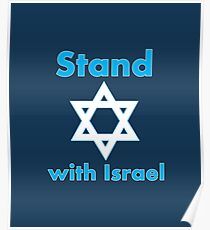 Stand with Israel Poster