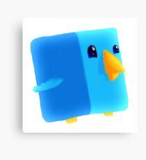 Cube Tweet Canvas Print