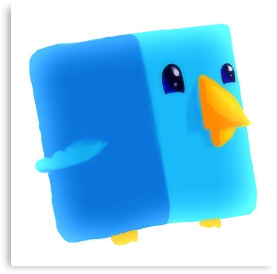 Cube Tweet by steeleart