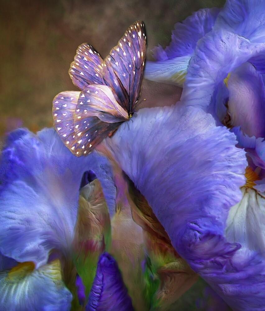 """Iris - Goddess Of Mystery 1"" By Carol Cavalaris"