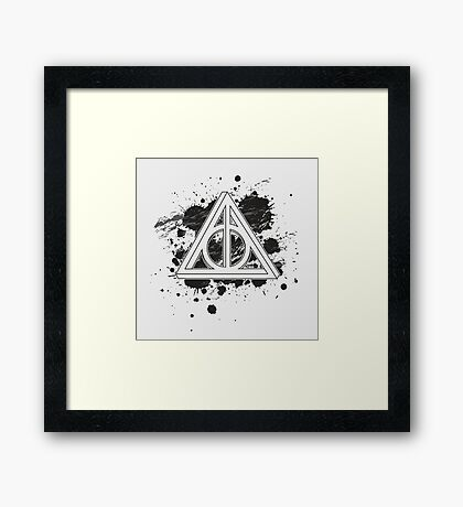 The Impossible Hallows Framed Print