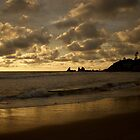 Arambol Sunset by Ronojoy