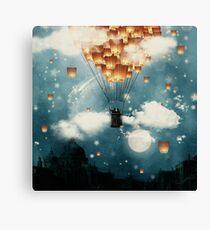 Where all the wishes come true Canvas Print
