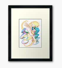 Princess Celestia Framed Print