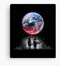 Until The End Of The World Canvas Print