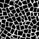 British Mosaic Zoom Black and White by ProjectM